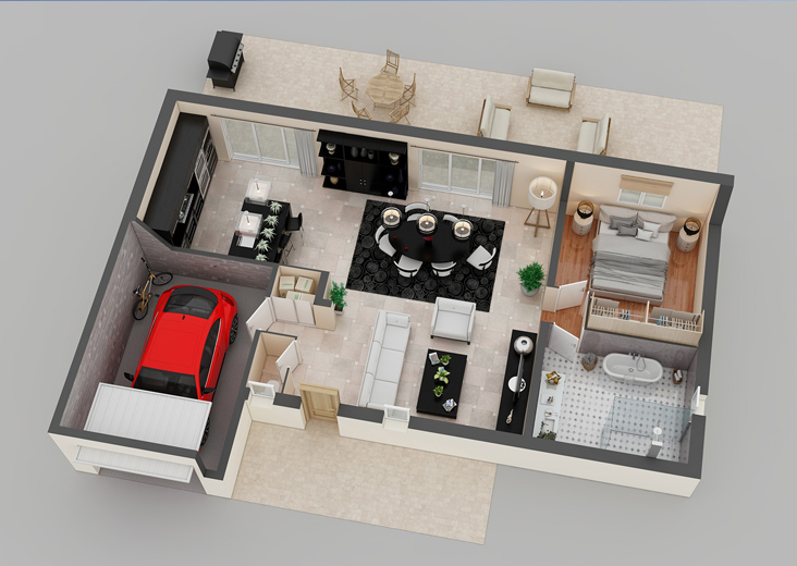 PLAN D'APPARTEMENT