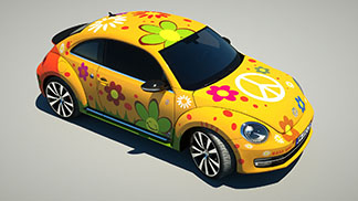NEW BEETLE FLOWER POWER 2