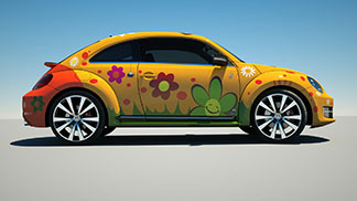 NEW BEETLE FLOWER POWER 3