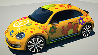 NEW BEETLE FLOWER POWER 7