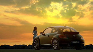 NEW BEETLE SUNSET